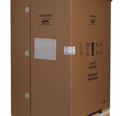 APC NetShelter SX IT cabinet with Shock Packaging