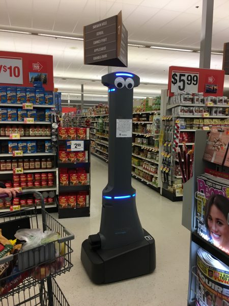 Marty the Stop & Shop robot