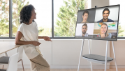 Microsoft's Surface Hub 2 Powered by APC's Lithium-ion Battery System Transforms Workplace Collaboration