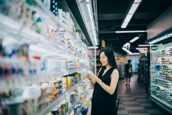 edge computing in grocery store